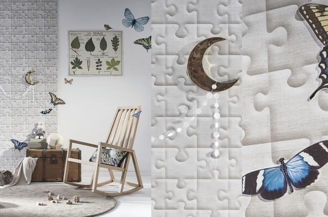 le papier peint intiss r volutionne les murs sweet home paris. Black Bedroom Furniture Sets. Home Design Ideas